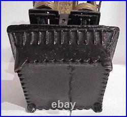 Antique Victorian 1893 Daisy #2 Cast Iron Double Kerosene Burner Sad Iron Heater