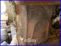 Antique Victorian Cast Iron Bishop & Wood #22 New Clarion Wood Stove