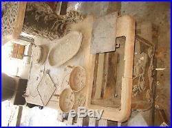Antique Victorian Cast Iron Black Stove
