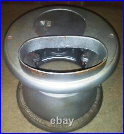 Antique Vintage Cast Iron Birmingham Pot Belly Coal Wood Stove No. 50