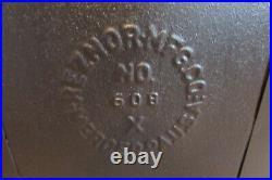Antique Vintage Cast Iron Reznor No 608 Gas Heater #1316