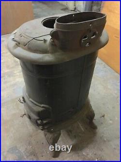 Antique Vintage Free-standing Cast-iron Stove