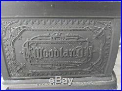 Antique Woodland No17 Cast Iron Camp Stove Sheppard Excelsior 1880 Baltimore