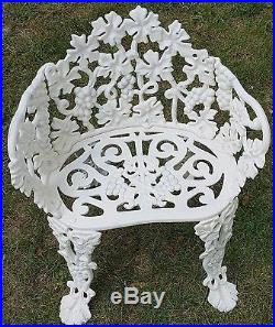 Atlanta Stove Works Vintage Victorian Style 4pc. Cast Iron Patio Furniture Set