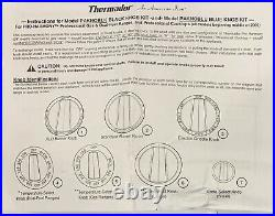 BOSCH/THERMADR BLUE KNOB SET (15pc)PAKNOBLU/#12005066 FOR 30-48RANGES, see pics