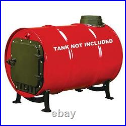 Barrel Stove Kits Parts Door Kit Handle Legs Feet Wood Burning Fire Cast Iron