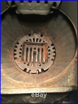 Beautiful Antique Florence Hotblast No. 51 Wood Coal Cast Iron Parlor Stove