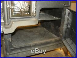 Beautiful Antique Salesman Sample Royal American Cast Iron Wood Cook Stove Oven