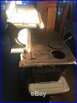 Belmont Antique Cast Iron Stove Made in the USA Leonard & Baker Stove Co