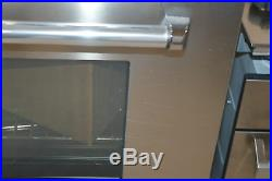 Bertazzoni MAS304DFMXE 30 Stainless Freestanding Dual-Fuel Range NOB #24308