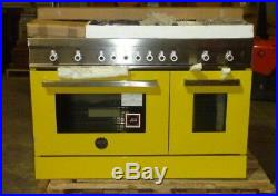 Bertazzoni Professional Series 48 Gas Range PRO486GDFSGI Yellow Natural or LP