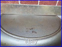 Birmingham Stove & Range / BSR #14 / 15 Cast Iron Skillet, Restored