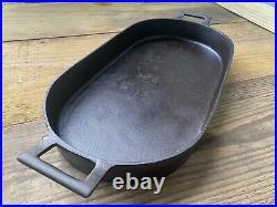 Birmingham Stove Range Iron Fish Roasting Pan Fryer Tool BSR 3052 Skillet Pot