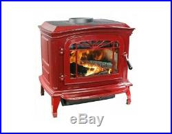 Breckwell Swc21r Red Porcelain Enameled
