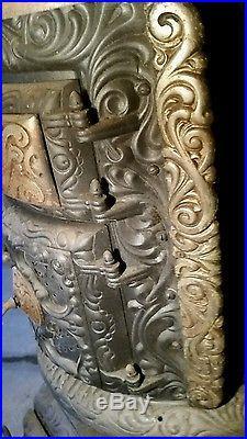 clarke cast iron fireplace