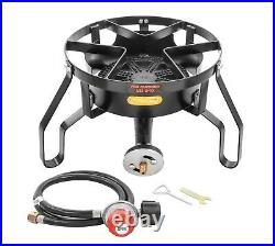 CONCORD Banjo Single Burner Outdoor Stove with Stand Home Brew Kettle Supply
