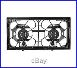 CONCORD Double Burner Outdoor Stand Stove Cooker with Regulator Brewing Supply