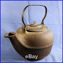 C. 1866-'70s Cast Iron Kettle Great Western Foundry & Stove Co. Leavenworth KS