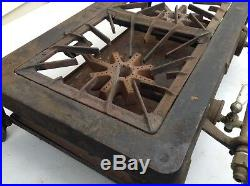 Cast Iron Griswold No. 802 Two Burner Stove