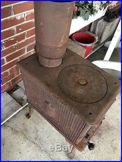 Cast Iron Wood Stove-Used