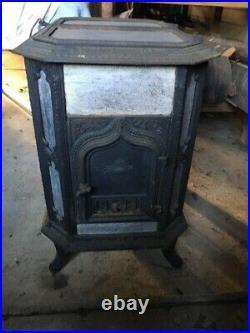 Cast Iron and Soapstone Wood Burning Stove 1970