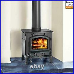 Clarke Regal III 9.2kW Cast Iron Wood Burning Stove DEFRA Approved