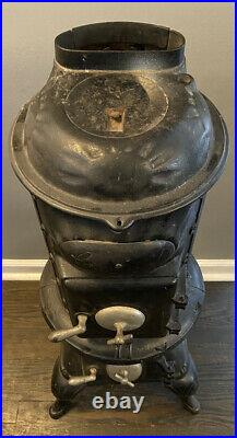 Cleveland co-op wood pot belly stove antique Grand 11