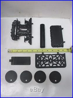 Crescent Cast Iron Miniature Salesman's Sample / Child's Toy Wood Cook Stove