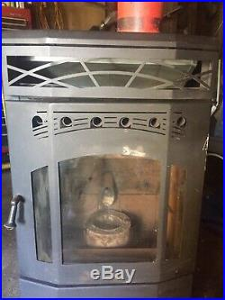 Dell Point Technologies Pellet Stove Used, Works Good 34,000 Input BTU