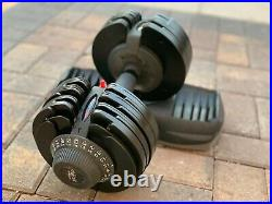 DialTech Adjustable Dumbbell 11 lb to 71 lbs Range 17-in-1 17 Weight Levels