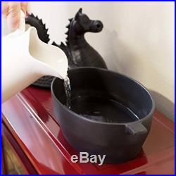 Dragon Wood Stove Steamer Cast Iron Solid Pot Kettle Steam Humidifier 3 Qt NEW