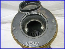Early Spark Salesman Sample Cast Iron Pot Belly Wood Cook Stove Toy Mount Joy B