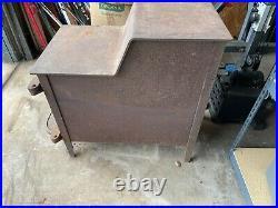 Fisher Mama Bear vintage wood stove