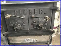 Fisher Wood Stove Grandpa Bear Heater