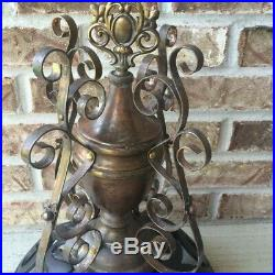 Florence 51 Antique Parlor Cast Iron Wood Stove Finial And Swing Top Only