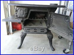 Genuine Antique Martin Stove & Range Co. Florence ALA Cast Iron Stove No. 8-16