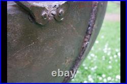 Giant Kadai Fire Pit BBQ Wood Burner Garden Stove Planter Pot & Stand 100-120cm