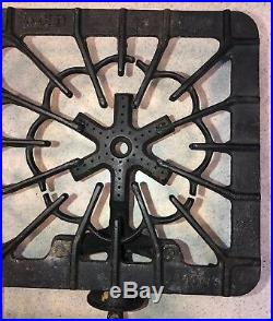 Griswold 32 Cast Iron Two Burner Tabletop Gas Stove Hot Plate 1171 1160 1701 USA