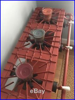 Griswold Cast Iron 3 Burner Gas Stove