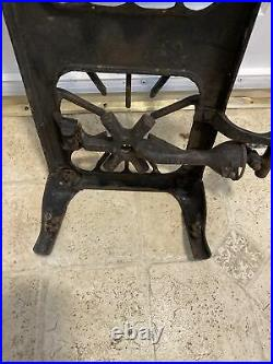 Griswold Erie PA No 203, 3 Burner Table Top Cast Iron Camping Gas Stove Antique