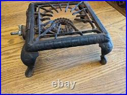 Griswold No 501 Cast Iron Single Burner Gas Stove Rare Kitchen Camping Early Vtg