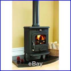 Hamco Glenbarrow Cast Iron Multi Fuel Wood Burning Glass Door Stove Fire New 6kW