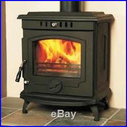 Hamco Glendine Stove Boiler Model Multi Fuel Cast Iron Wood Burning Fire New
