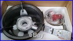 High Pressure 55MJ LP Gas Wok Burner Cooker Stove Piezo Ignition Hose Regulator