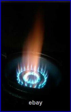 High Pressure Cast Iron LP Gas Wok Burner Stove with Propane Regulator Gas Hose