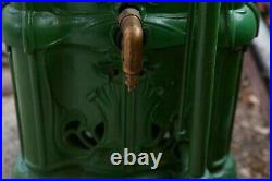 Historic Antique 1900s Ruud Humphrey Cast Iron Tankless Water Heater No. 30