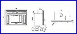 Hot Sale HiFlame HF577IU3 Classical 85,000BTU Large Wood Insert Heating Stove