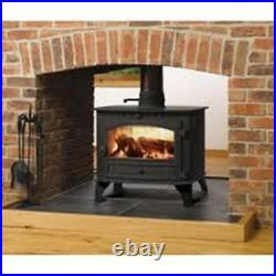 Hunter Herald 8 Double Sided Multi Fuel Stove Wood Burning Fire 11kW