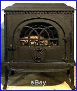 Jotel Jtel 8 Wood Stove Black Cast Iron