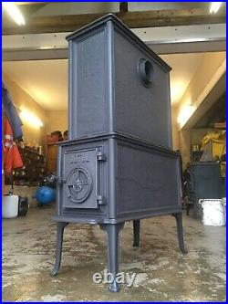 Jotul 1945 Peace in Norway WW2 119 Classic Cast Iron Wood Burning Stove Exit #61